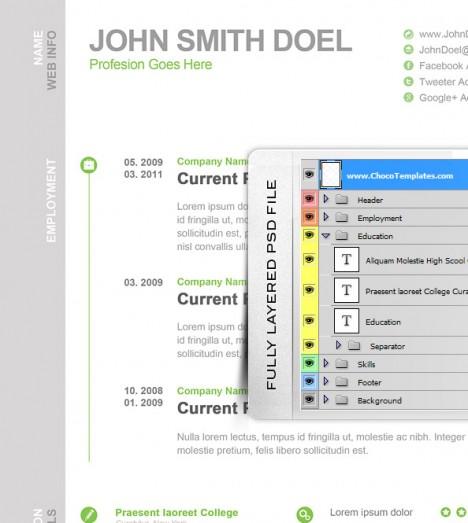 free modern professional resume templates .
