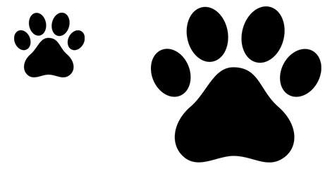 Plantilla de huella de perro   Plantilla