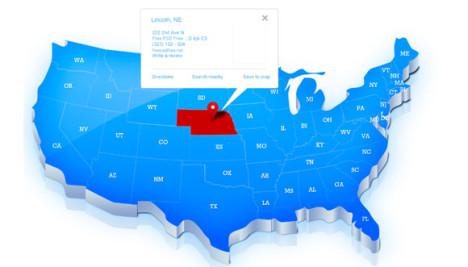 Plantilla de Mapa de Estados Unidos para Photoshop